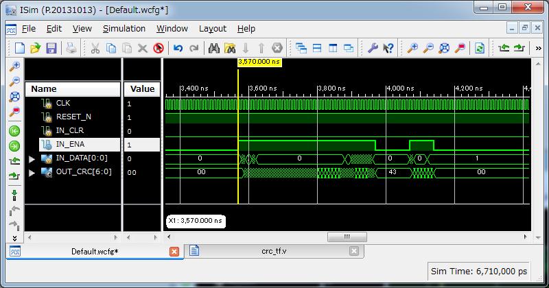 CRC7(1bit)